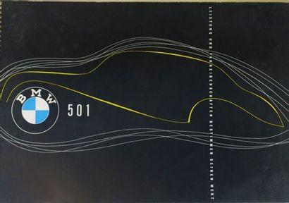 Catalogue publicitaire pour BMW type 501