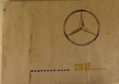 Catalogue publicitaire pour Mercedes Benz...