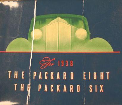 Catalogue Packard 1938 Eight - Six Pliures...
