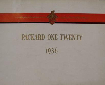 Catalogue Packard 1936 One Twenty