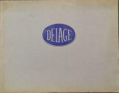 Catalogue Delage 1936