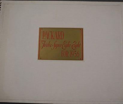 Catalogue Packard 1936 Twelve Super Eight...