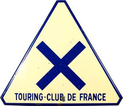 Panneau de signalisation Touring Club de...