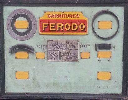 Tableau en bois garnitures Ferodo 101 x 74...