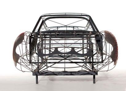 Master de carrosserie Scaglietti de la Ferrari 250 GTO Ce très rare gabarit, issu...
