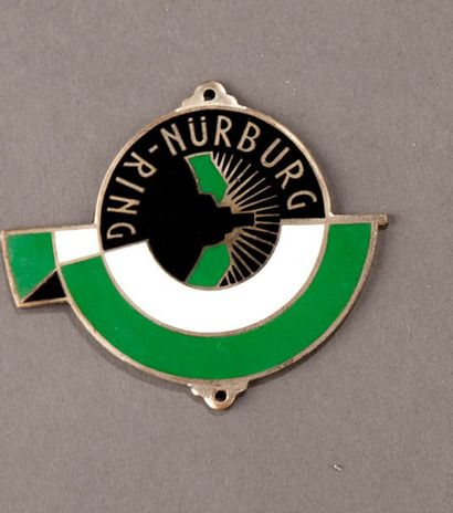 Badge calandre circuit allemand du Nürburg-Ring...