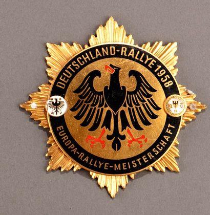 Badge calandre Automobile Club Allemagne Parfait état