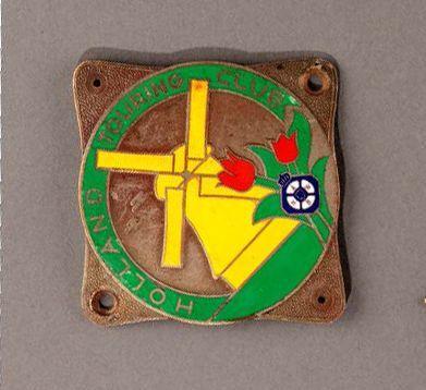 Badge calandre Automobile Club Hollande Parfait...