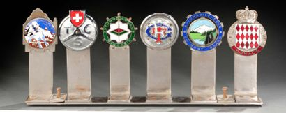 Lot de 6 badges de calandre comprenant Touring...