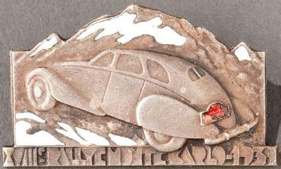 Epinglette 18ème Rallye Automobile Monte...