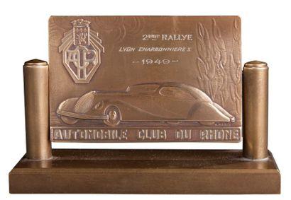 Trophée 2ème rallye automobile Lyon Charbonnières...