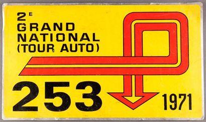 Plaque 16ème Tour de France Automobile Grand...
