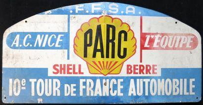Plaque Rallye Tour de France Automobile de...