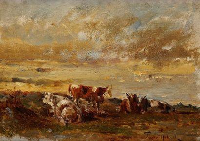 Attribué à Paul Désiré TROUILLEBERT (1829-1900)
