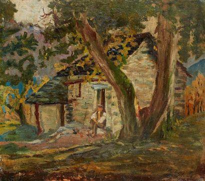 Attribué à Paul MADELINE (1863-1920)