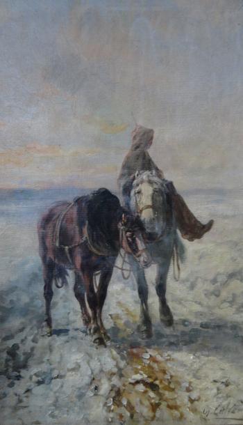 Léon Georges CALVES (1848-1923)
