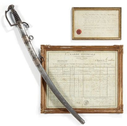 Sabre d'honneur décerné par le premier consul au citoyen Dambly, capitaine à la...