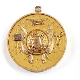 Médaille de garde national du New Jersey...