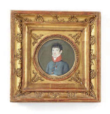 Petite miniature Portrait du fils du général...