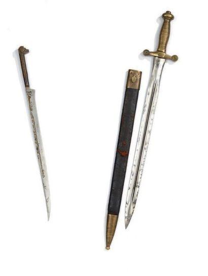 Un glaive de garde nationale de type 1831,...
