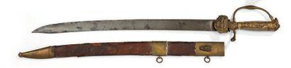 Dague de chasse allemande avec son fourreau....