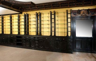Aménagement intérieur composé d'un mobilier...