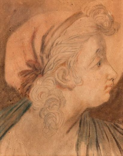 ECOLE FRANCAISE, fin du XVIIIème siècle