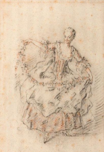 Attribué à Jacques-André PORTAIL (1695-1759)