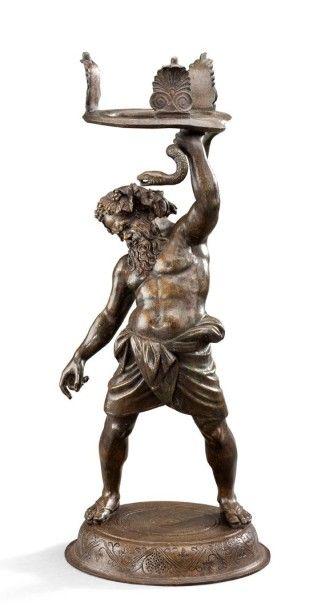 D'après l'antique Silène ivre Epreuve en...