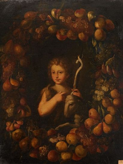ECOLE ESPAGNOLE, VERS 1650