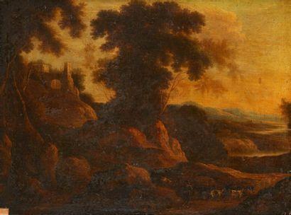 Ecole flamande du XVIIème siècle, entourage de Jacques d'ARTOIS