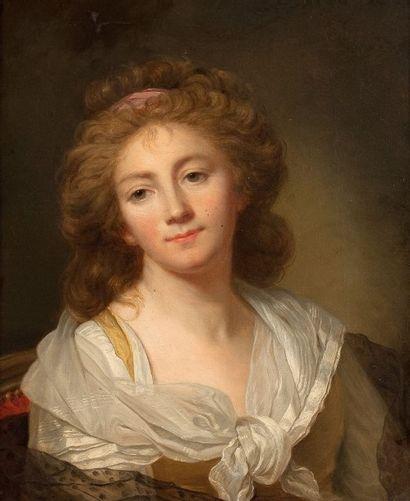 Ecole française de la fin du XVIIIème siècle, atelier de Marie Geneviève BOULIARD