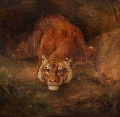Attribué à Charles VERLAT (1824-1890)