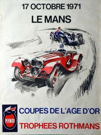 Affiche originale Coupe de l'âge d'or Le...