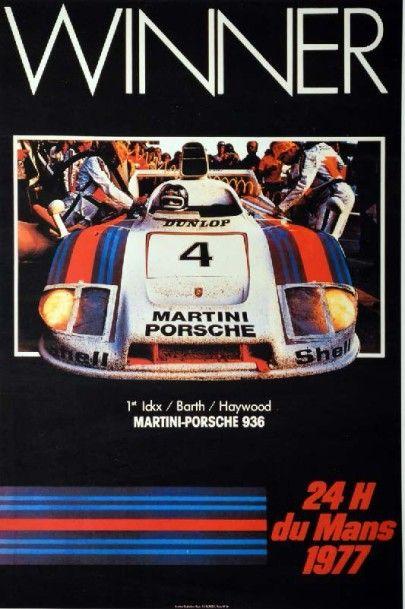 Affiche repro Victoire Porsche 936 aux 24h...