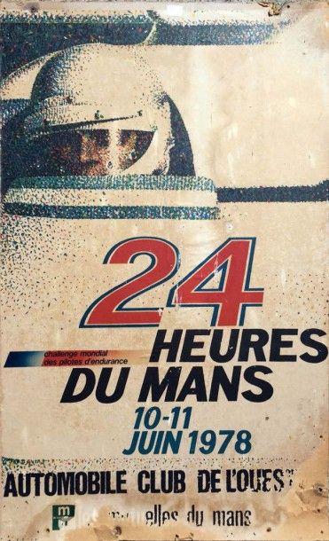 Affiche 24H DU MANS 1978 Imp. Commercial,...