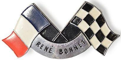 Badge automobile RENE BONNET état neuf