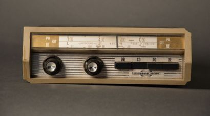 Poste de radio Citroën DS23 Pallas