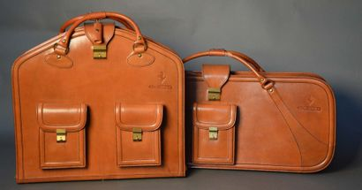 Set de deux valises de marque Schedoni pour...