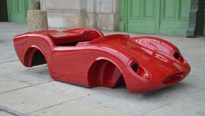 Coque en fibre de verre de Ferrari 250 Testa...