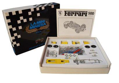 FERRARI Ferrari 500 en kit par REVIVAL CARS. Modèle en métal, Echelle 1/20e. Neuf...
