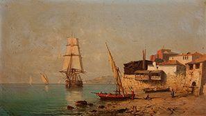Tony-François de BERGUE (1820-1890)