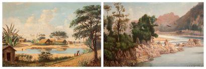 Attribué à Pierre Emile GIGOUX DE GRANDPRÉ (1826-?)