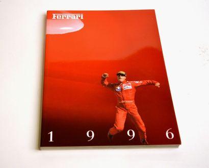 FERRARI Catalogue de présentation 1996 en italien Edition Ferrari SpA