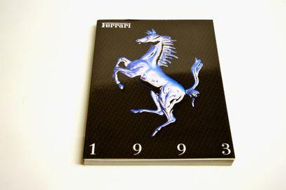 FERRARI Catalogue de présentation 1993 en...