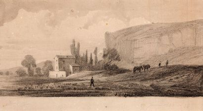 Attribué à Charles François DAUBIGNY (1817 - 1878)