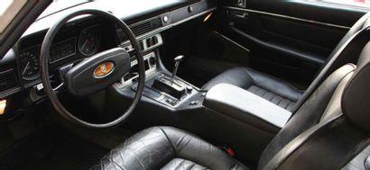 1981 - JAGUAR XJ-S V12 «Si les cylindres m'étaient comptés...» Dans le goût des...