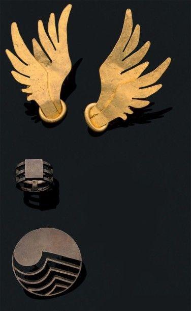 Ensemble de bijoux contemporain  VAN DER...