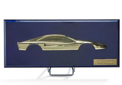 Ferrari Profil de Ferrari 308 GTB, en bronze...