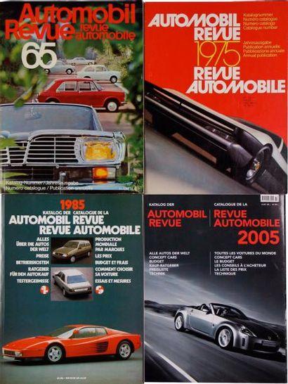 REVUE AUTOMOBILE Années 1965 à 2005 Manque...